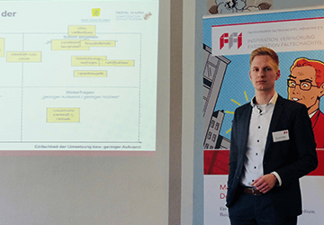 """Pascal Pöhler zum Innovationsprojekt """"Kundenintegration per App"""""""