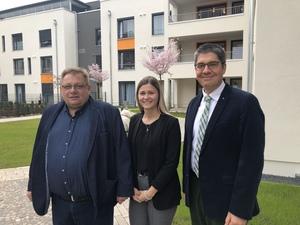 Die Josef Schulte GmbH spendet an das St. Johannesstift in Paderborn