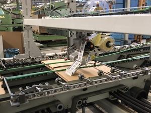 Vollautomatisches Förderungssystem als Weiterentwicklung unseres Maschinenparks
